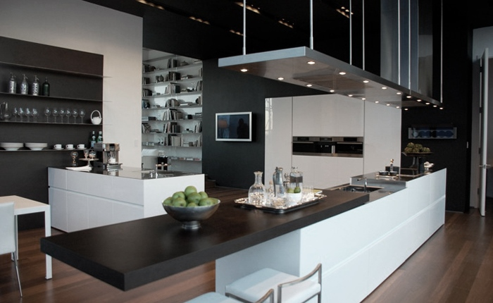 Modern interior design styles - High-tech kitchen design