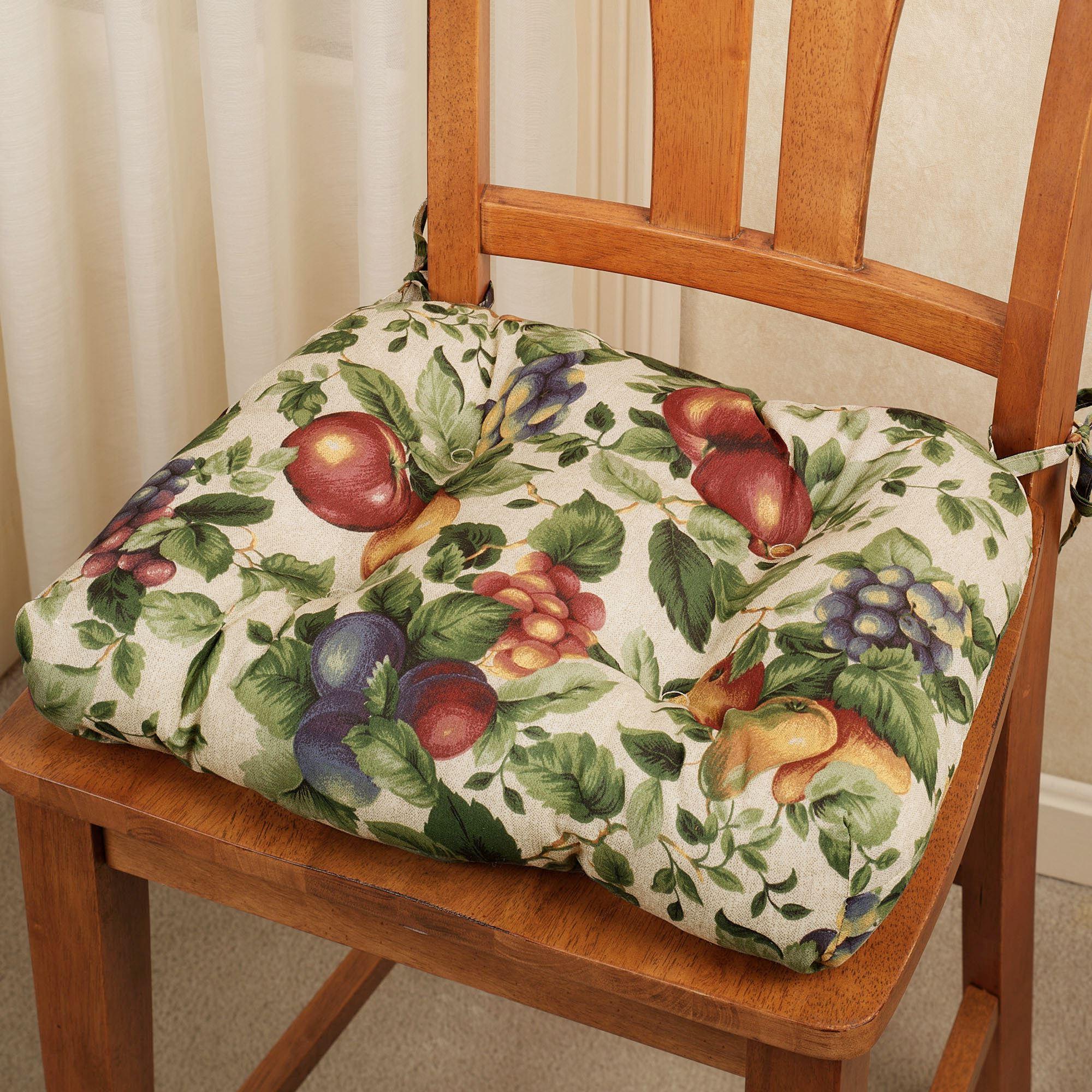Textile seat pad