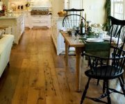 Wooden floor in the kitchen country style 180x150 - Country-Style Kitchens