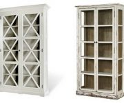 Aged furniture – Vintage cupboard in the kitchen