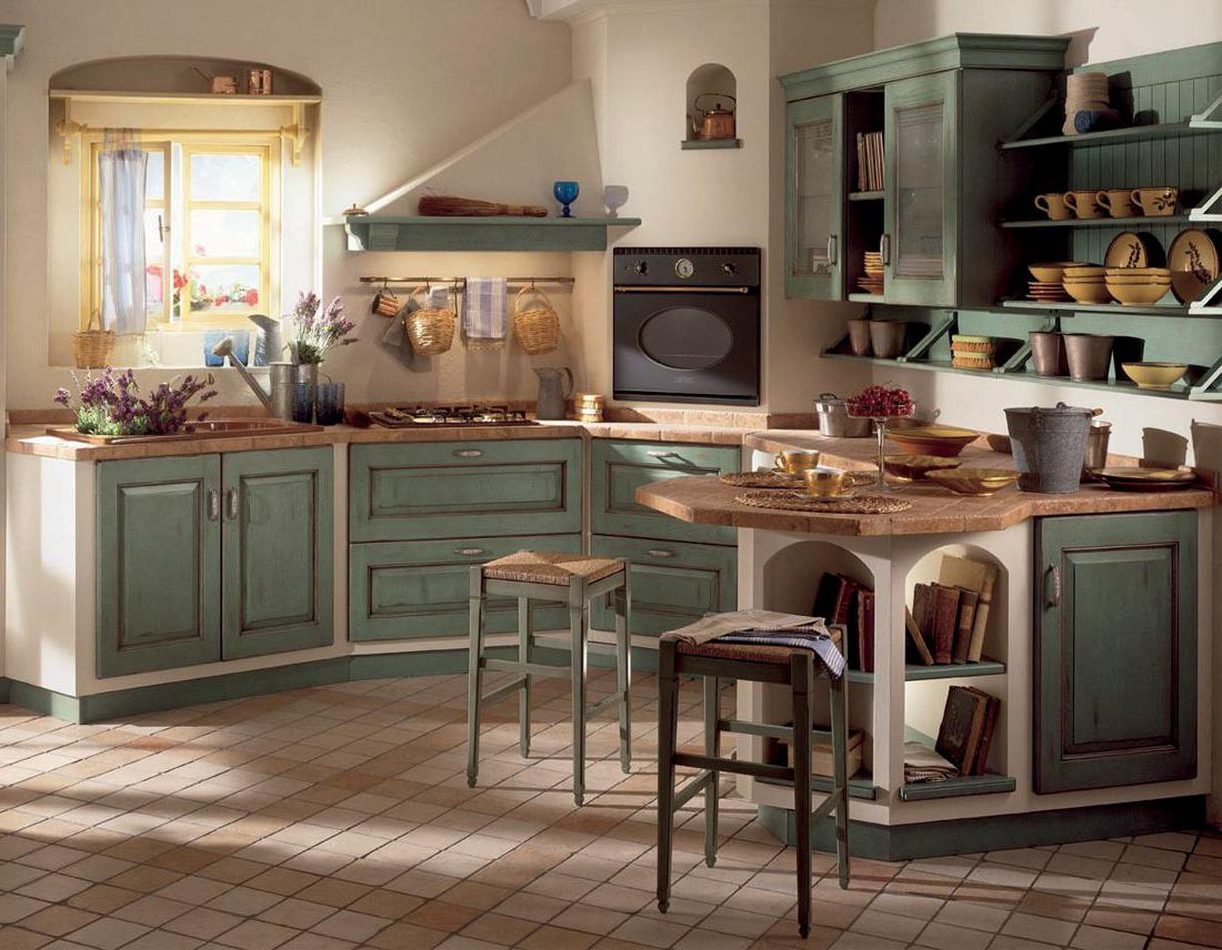Kitchen Provence Style Design