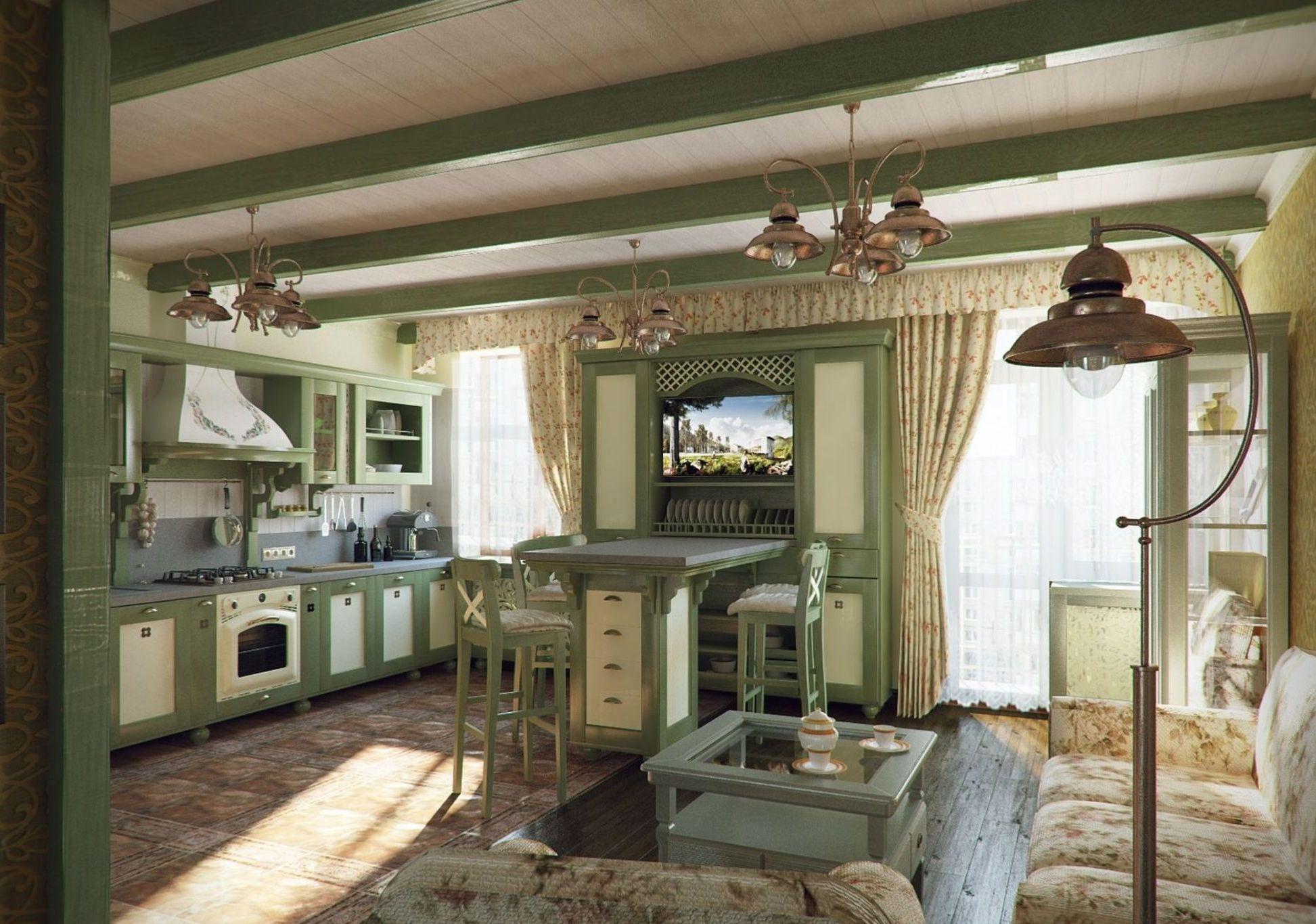 Kitchen Provence Style