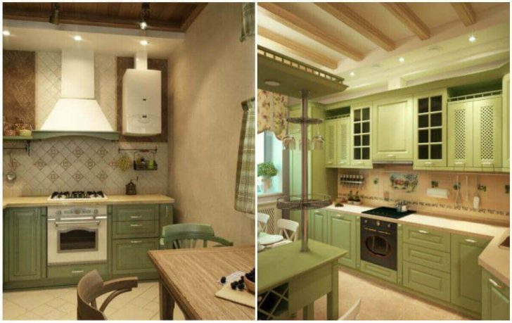 Kitchen appliances Provence Kitchen 2 728x459 - Provence Style Kitchens – 100 ideas for interior