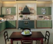 Olive kitchen in Provence style