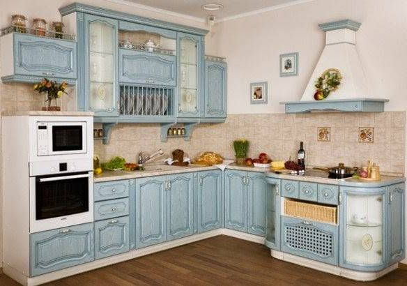 Provence Kitchen Design. Finishing touches. 4