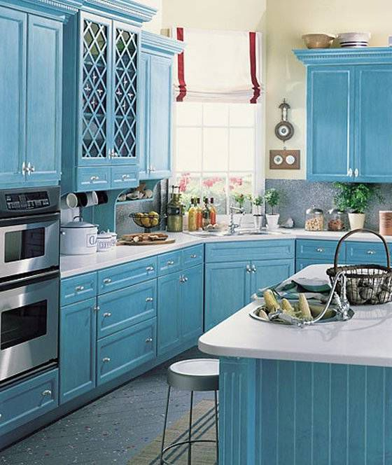 Provence Style Kitchens – Light Blue 2