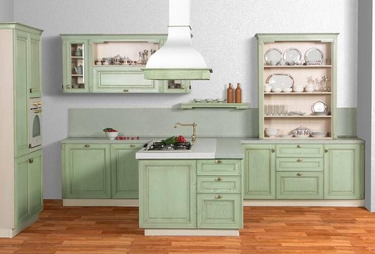 Provence Style Kitchens – Pistachio color
