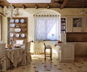 Provence Style Kitchens Sand color 3 180x150 - Provence Style Kitchens – 100 ideas for interior