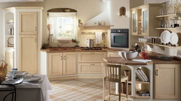 Provence Style Kitchens Sand color 728x409 - Provence Style Kitchens – 100 ideas for interior