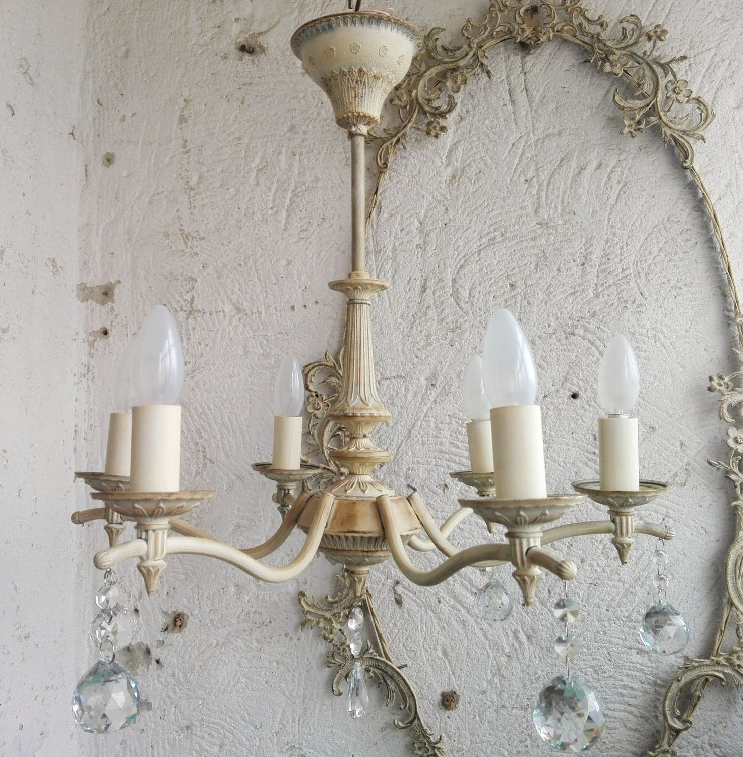 Provence style chandeliers 2