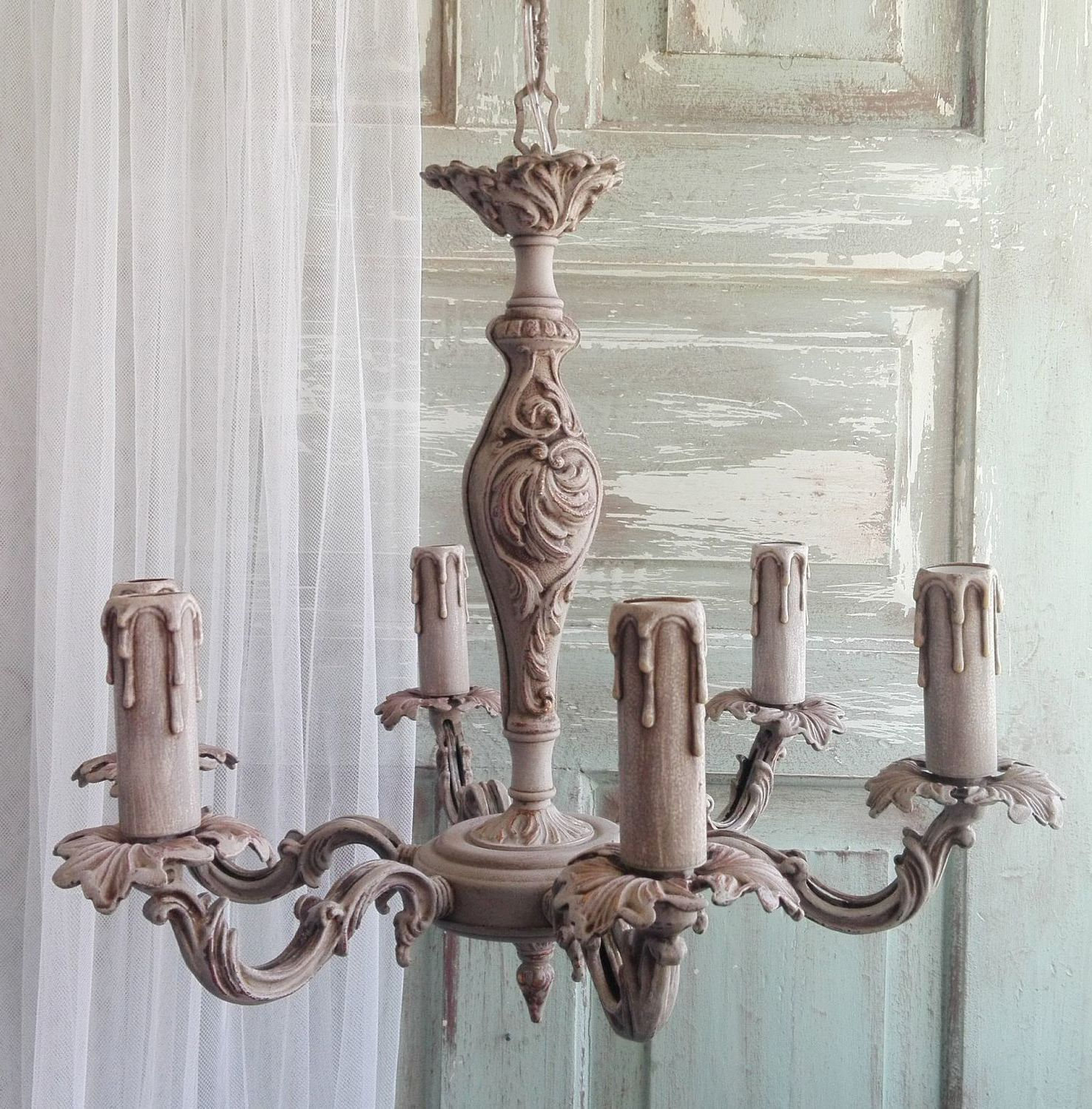 Provence style chandeliers