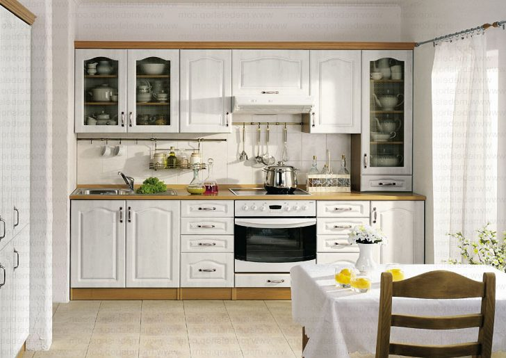 Provence white kitchen 728x515 - Provence Style Kitchens – 100 ideas for interior